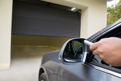 Installation Porte de garage automatique – Porte de parking électrique