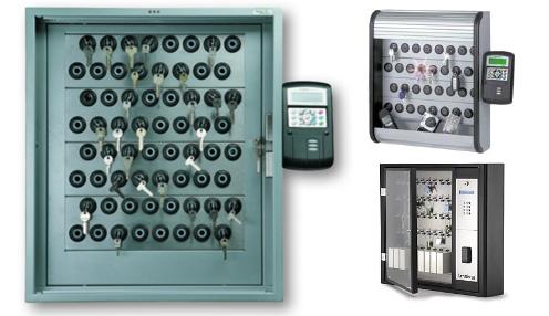 Infrastructure de gestion de clés : Armoire à clefs électronique