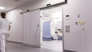 Porte automatique hôpital